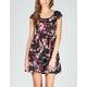 FULL TILT Floral Skater Dress