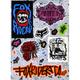 FOX Free Ride Sticker Sheet
