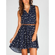 FULL TILT Hearts Hi Low Shirt Dress