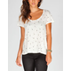 VANS Arrow Womens Open Back Tee