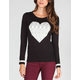 SAY WHAT? Heart Womens Sweater