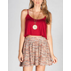 FULL TILT Womens Crop Cami