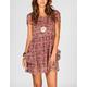 LOTTIE & HOLLY Floral Chiffon Babydoll Dress