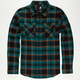 ELIXIR Rolling Stone Mens Flannel Shirt