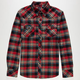 MICROS Coping Mens Flannel Shirt