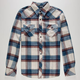 MICROS No Comply Mens Flannel Shirt