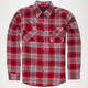 SHOUTHOUSE Central Mens Flannel Shirt