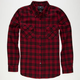 SHOUTHOUSE Parkman Mens Flannel Shirt
