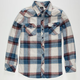 MICROS No Comply Boys Flannel Shirt