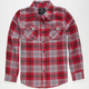 SHOUTHOUSE Central Boys Flannel Shirt