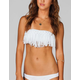 DAMSEL Knotted Fringe Bikini Top