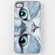 ZERO GRAVITY Meow Face iPhone 4/4S Case
