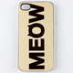 ZERO GRAVITY Cat Call iPhone 4/4S Case