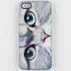 ZERO GRAVITY Meow Face iPhone 5 Case