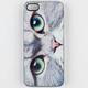ZERO GRAVITY Meow Face iPhone 5 Case
