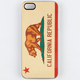 ZERO GRAVITY Golden State iPhone 5 Case