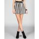 FULL TILT Bold Stripe Zip Front Skirt