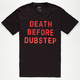 IMPERIAL MOTION Death Before Dubstep Mens T-Shirt