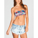 SEE YOU MONDAY Southwestern Cinch Bandeau