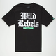 MIGHTY HEALTHY Rebel Mens T-Shirt