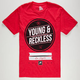 YOUNG & RECKLESS Trademarked Mens T-Shirt