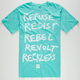 YOUNG & RECKLESS Starting 5 Mens T-Shirt