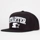 STARTER Solid Arch Mens Snapback Hat