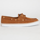 SPERRY Suede Bahama Womens Boat Shoes