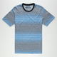 HURLEY Wedge Crew Mens T-Shirt