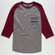 RETROFIT Bordertown Mens Baseball Tee