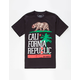 RIOT SOCIETY Tropical Cali Flag Boys T-Shirt