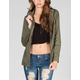 ASHLEY Womens Twill Anorak Jacket