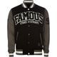 FAMOUS STARS & STRAPS The Swing Mens Varsity Jacket