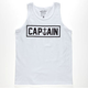 CAPTAIN FIN Naval Captain Mens Tank