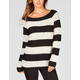 RAZZLE DAZZLE Striped Womens Sweater