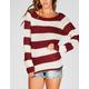 RAZZLE DAZZLE Striped Womens Sweater