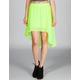HURLEY Sheila Hi Low Skirt