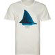 BILLABONG White Mike Shark Fin Mens T-Shirt