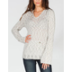 ROXY White Caps Womens Hooded Sweater