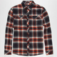 AKRUX Hollow Mens Flannel Shirt