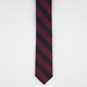 Rugby Stripe Skinny Tie