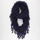Figure 8 Link Knit Infinity Scarf