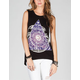 FULL TILT Astrological Womens Hi Low Muscle Tee