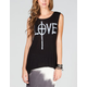 H.I.P. Love Womens Hi Low Muscle Tank