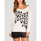 FULL TILT Animal Print Womens Sweatshirt