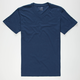 BLUE CROWN Mens V-Neck Tee