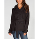 FULL TILT Womens Hooded Trench Coat