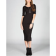 MMXXIII Elbow Sleeve Bodycon Dress