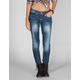 YMI Fleur De Li Womens Skinny Jeans