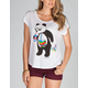 RIOT SOCIETY Panda Bubbles Womens Tee